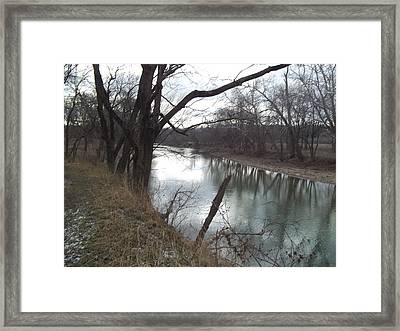 Framed Print featuring the photograph Still Waters by Eric Switzer