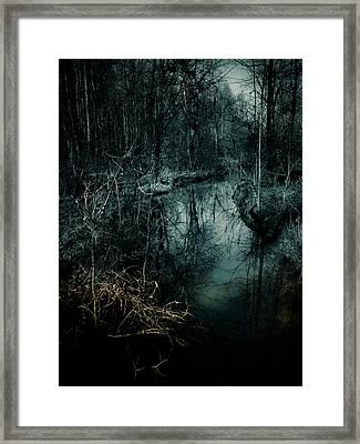 Still Waters Run Deep Framed Print