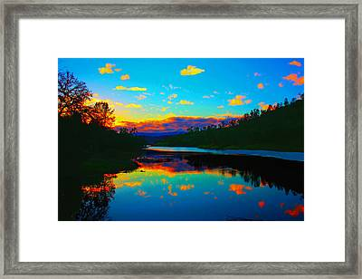 Still Waters Framed Print by Stephen Edwards