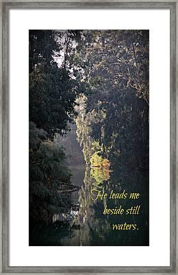 Still Waters Framed Print by Stephen Stookey
