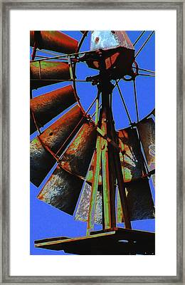 Framed Print featuring the photograph Still Winds by Diane Miller