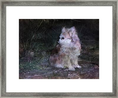Still With Me Framed Print