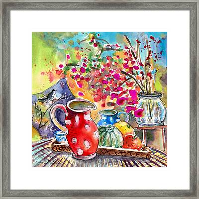 Still Life In Bergamo 01 Framed Print by Miki De Goodaboom