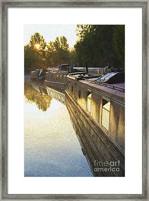 Stillness And Light Framed Print