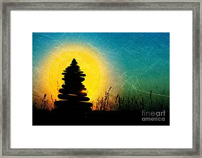 Stillness And Movement Framed Print by Tim Gainey