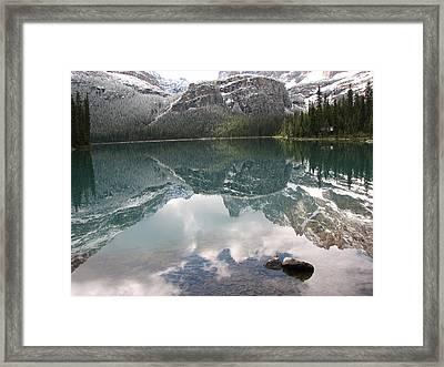 Stillness Framed Print by Else Tamayo