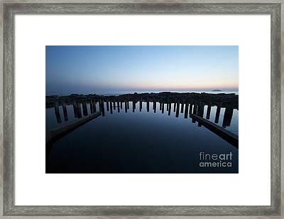 Framed Print featuring the photograph Stillness. by Gary Bridger