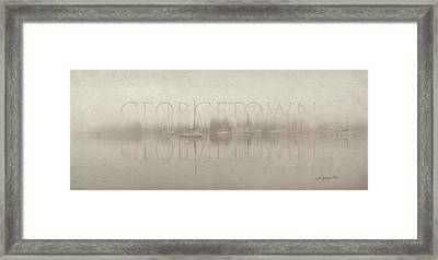 Stillness Georgetown Version Framed Print