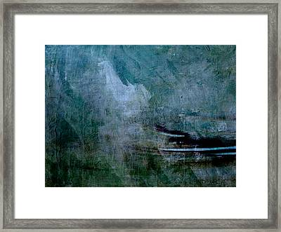 Stillness In The Storm Framed Print by Jean Moore
