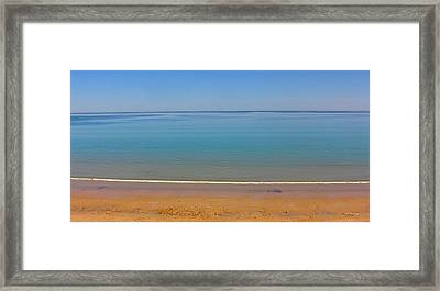 Stillness Framed Print by Jocelyn Kahawai