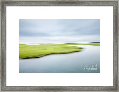 Stillness Framed Print by Susan Cole Kelly Impressions