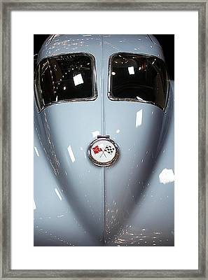Framed Print featuring the photograph '63 Sting Ray  by Aaron Berg