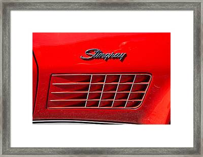 Stingray Framed Print