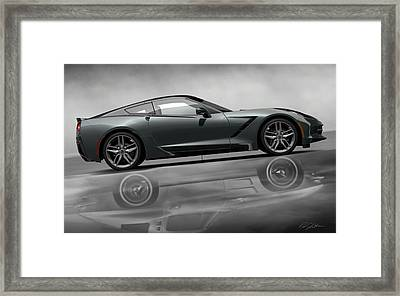Stingray Returns Framed Print