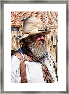Stinky Framed Print by Vinnie Oakes