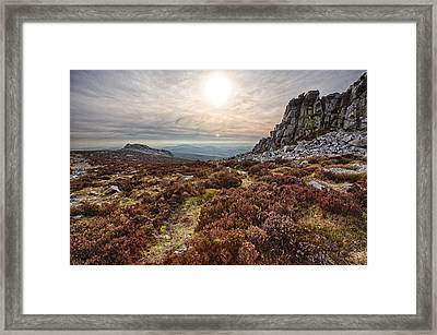 Stiperstones National Nature Reserve Framed Print