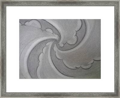 Stir Framed Print by Louis Noonburg