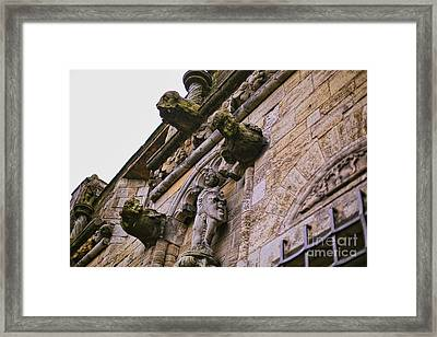 Stirling Castle Detail Framed Print by Kate Purdy