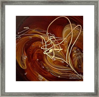 Stirring Mood Framed Print