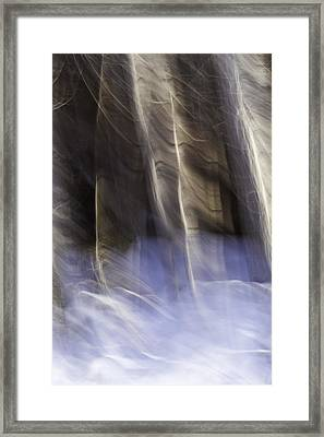 Stirring The Sky Framed Print