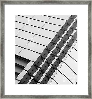 Stitched 1 Framed Print by Rebecca Cozart