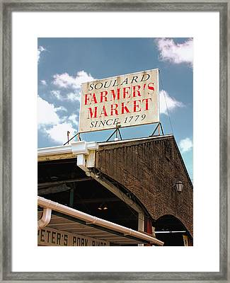 St.louis Market Framed Print