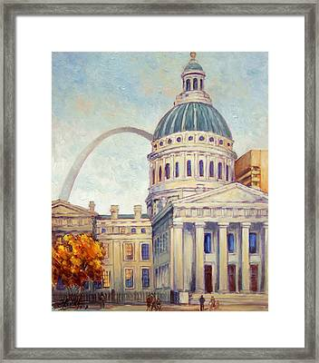 St.louis Old Courthouse Framed Print