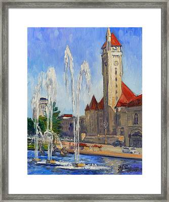 St.louis Union Station 1 Framed Print