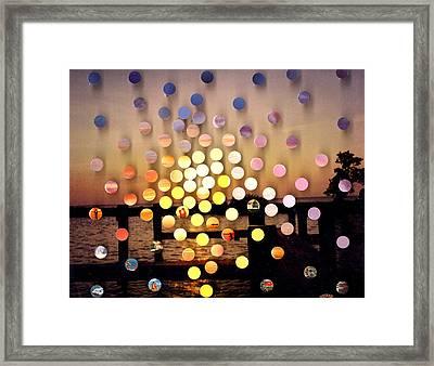 Stmichaels Sunsetsegue1 Framed Print by Irmari Nacht