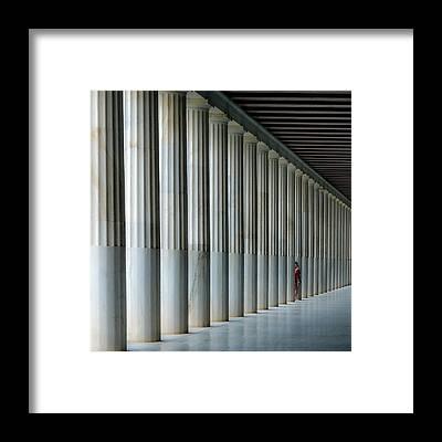 Athens Framed Prints
