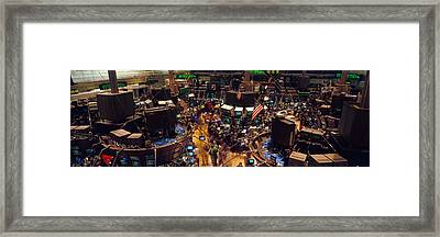 Stock Exchange, Nyc, New York City, New Framed Print by Panoramic Images