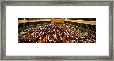 Stock Exchange Tokyo Japan Framed Print by Panoramic Images