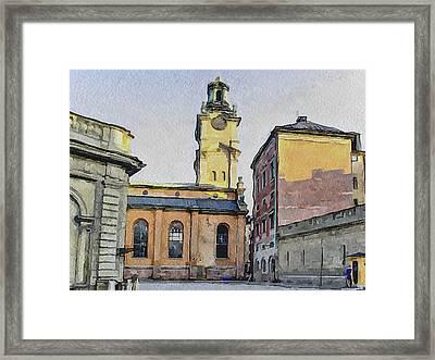 Stockholm 1 Framed Print by Yury Malkov