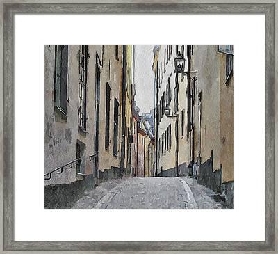 Stockholm 13 Framed Print