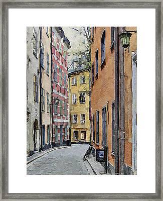 Stockholm 15 Framed Print