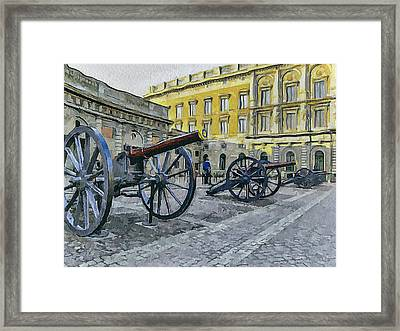 Stockholm 2 Framed Print
