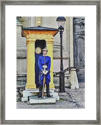 Stockholm 3 Framed Print