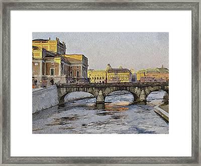 Stockholm 4 Framed Print by Yury Malkov