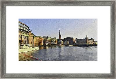 Stockholm 7 Framed Print