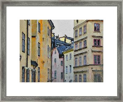 Stockholm 8 Framed Print by Yury Malkov