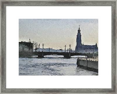 Stockholm 9 Framed Print