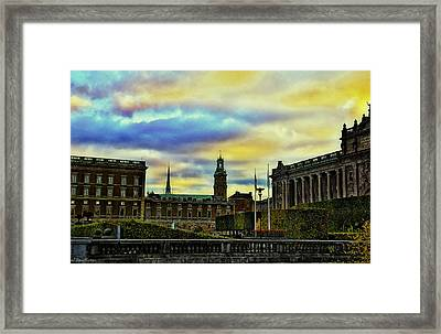 Stockholm II Framed Print by Ramon Martinez