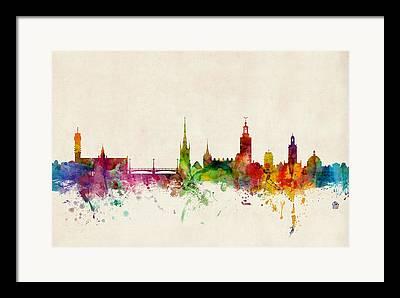 Stockholm Framed Prints