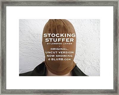 Stocking Stuffer  Uncut Framed Print