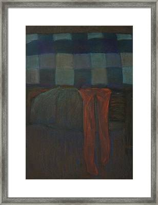 Stockings Framed Print by Oni Kerrtu