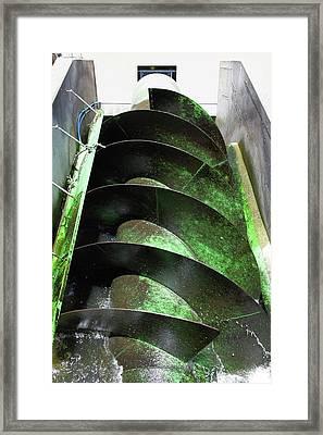Stockport Hydro Power Station Framed Print by Martin Bond
