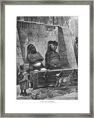 Stocks, 1886 Framed Print by Granger
