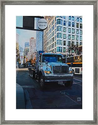 Stockton-ellis Framed Print by Moz Art