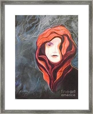 Stoic Framed Print by Carolyn LeGrand