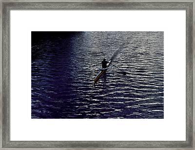 Stoke Me Framed Print